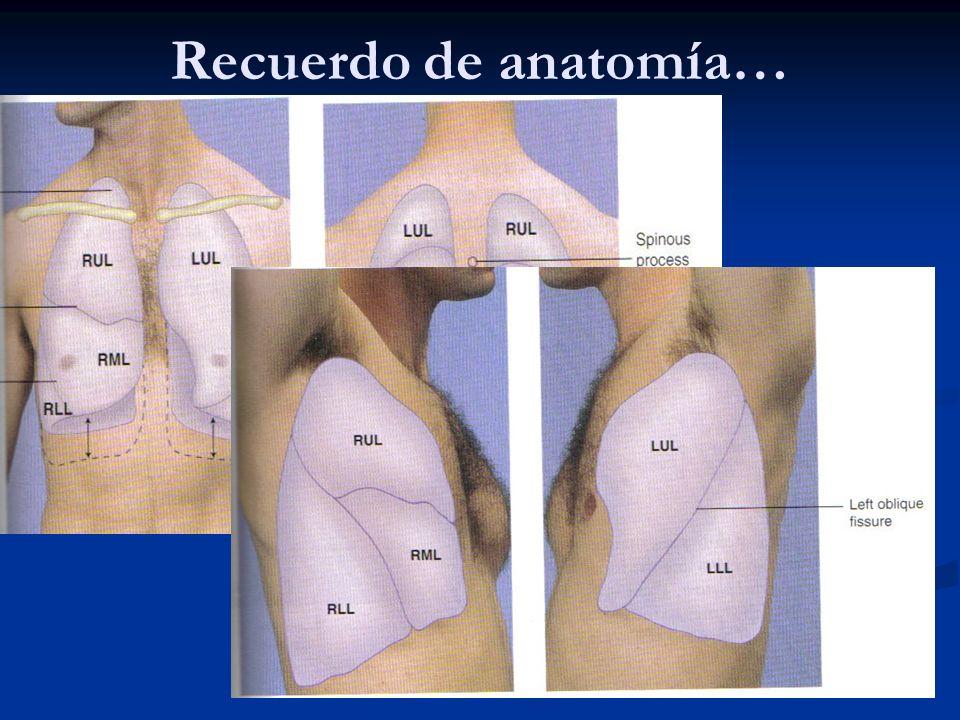 Examen físico..Recordar que anamnesis nos brinda el 60- 80% del diagnóstico!.