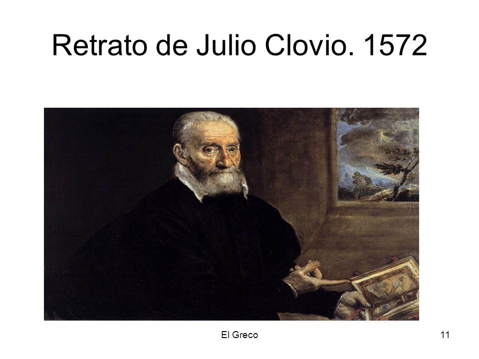 El Greco11 Retrato de Julio Clovio. 1572