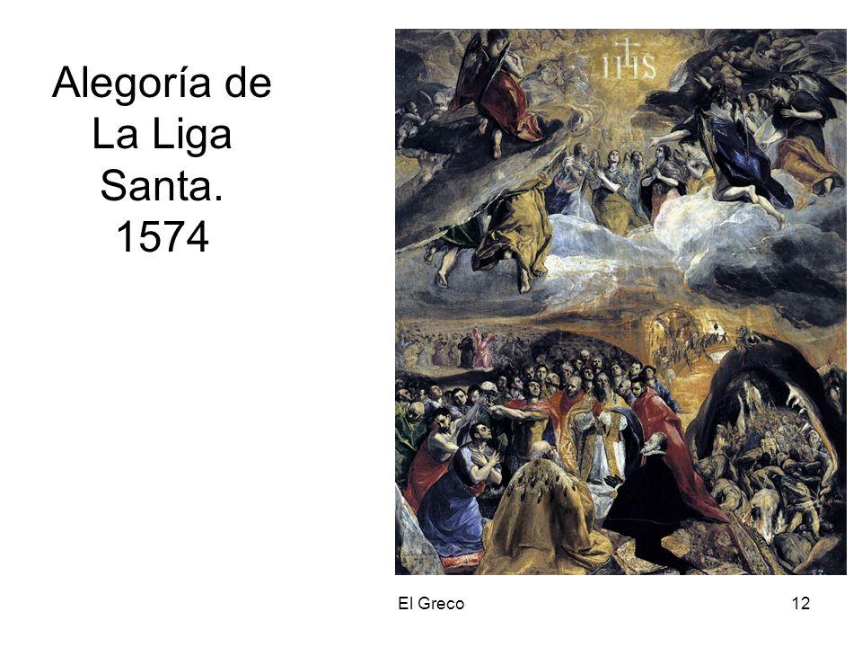El Greco12 Alegoría de La Liga Santa. 1574