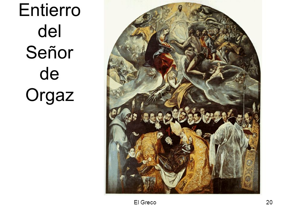 El Greco20 Entierro del Señor de Orgaz