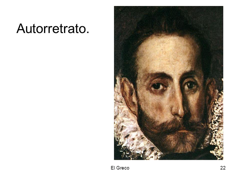 El Greco22 Autorretrato.