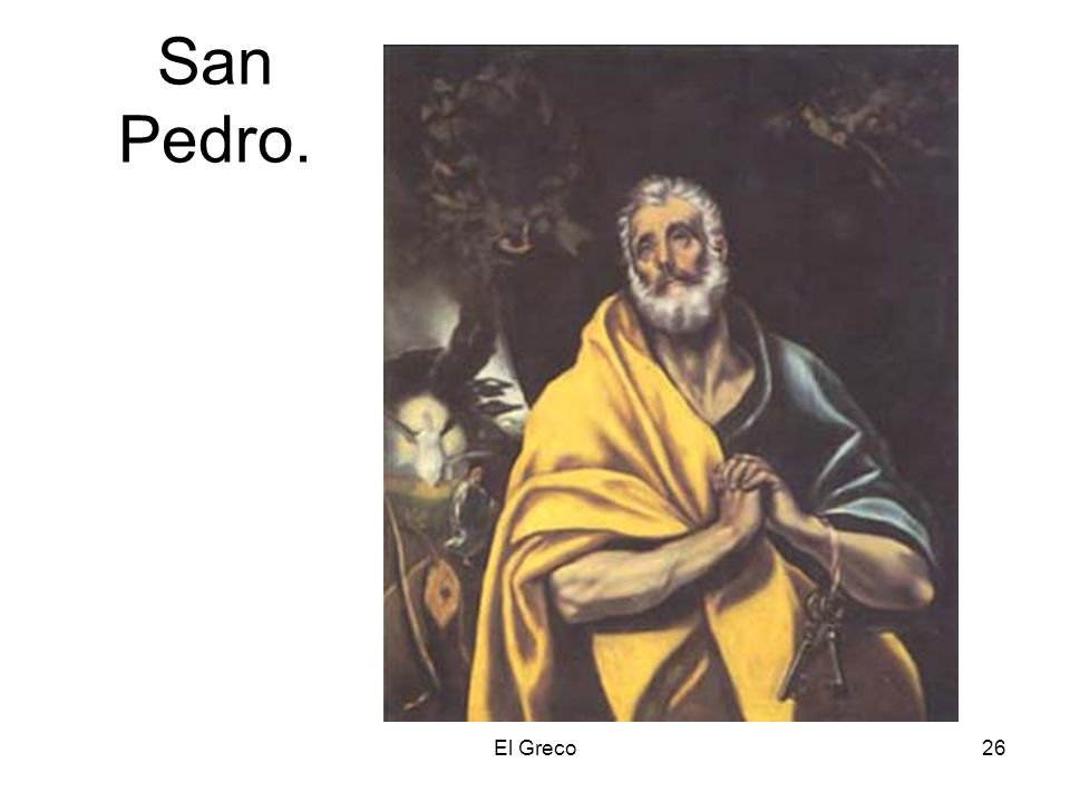 El Greco26 San Pedro.