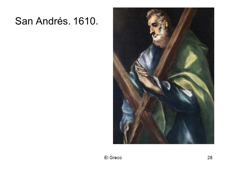 El Greco28 San Andrés. 1610.