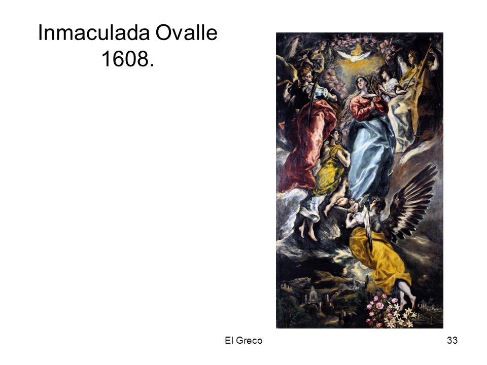 El Greco33 Inmaculada Ovalle 1608.