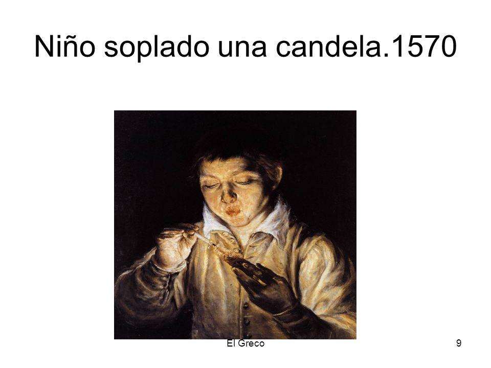 9 Niño soplado una candela.1570