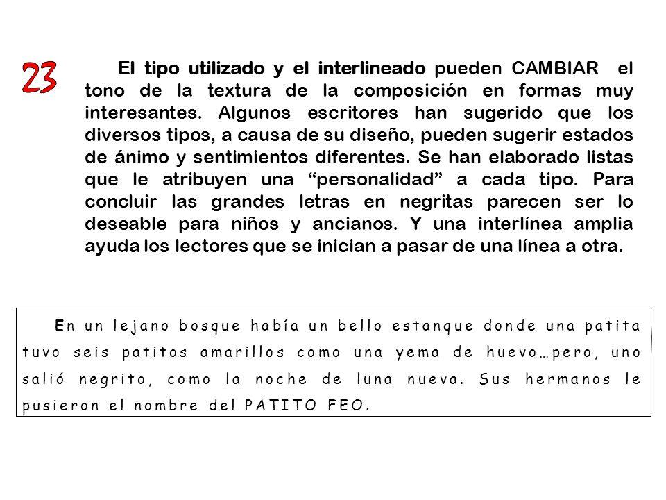 L AS REGLAS TIPOGRÁFICAS.