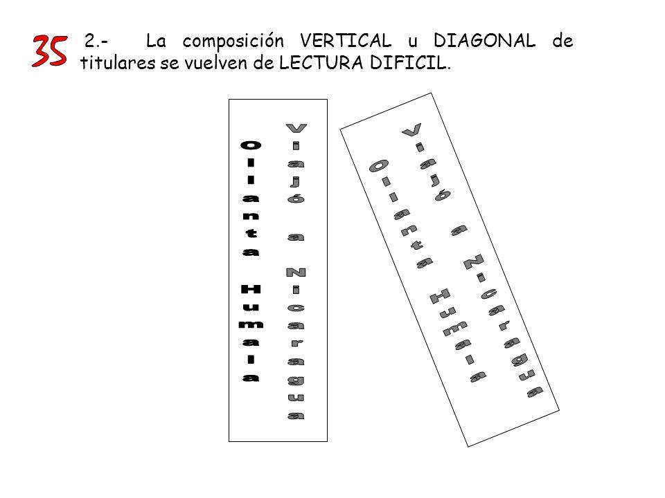 El recorte de las letras de TÍTULOS en el siglo XIX, introdujo una nueva clase de tipografía.
