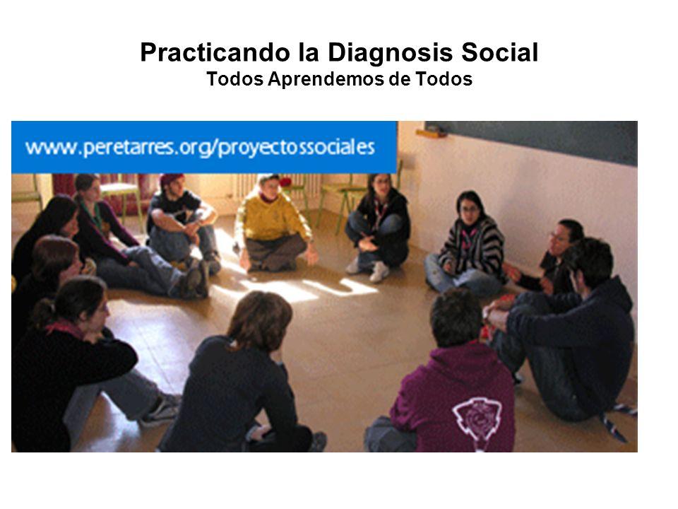 Practicando la Diagnosis Social Todos Aprendemos de Todos
