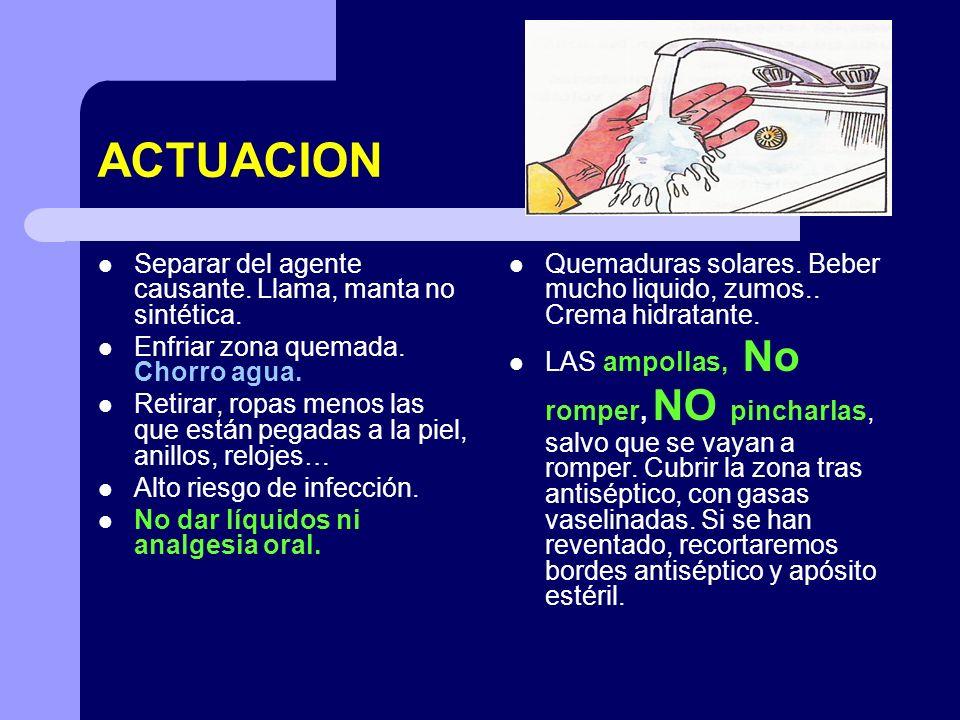 HIDROCUCION.CORTE DE DIGESTIÓN Es causa frecuente de ahogamiento.