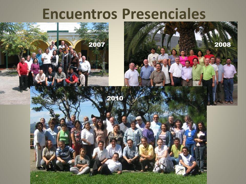 Encuentros Presenciales 20072008 2010