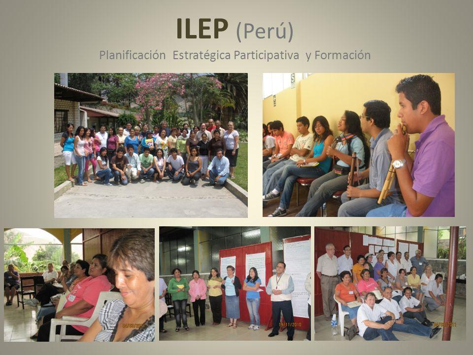 ILEP (Perú) Planificación Estratégica Participativa y Formación