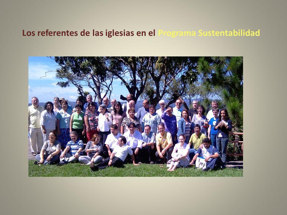 Los referentes de las iglesias en el Programa Sustentabilidad