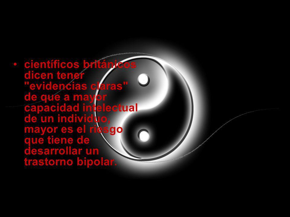 tratamiento Cuando se diagnostica adecuadamente, el trastorno bipolar puede tratarse.