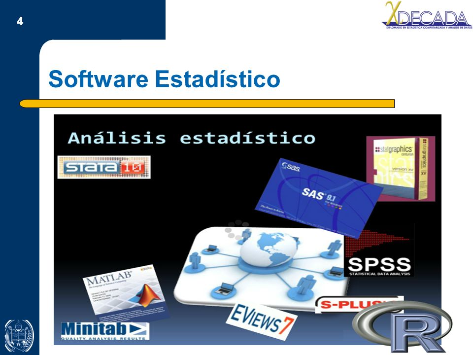 4 Software Estadístico