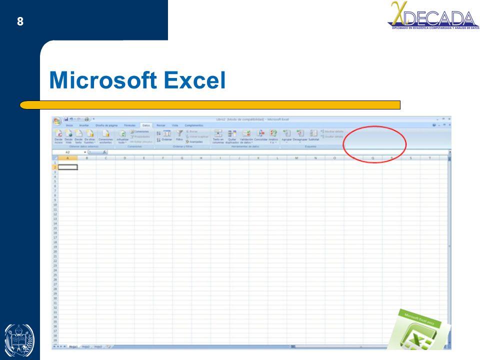 9 Título Microsoft Excel