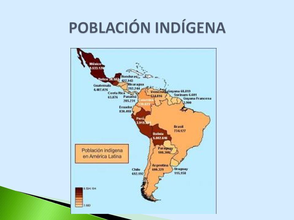 Cantidad total de población (censo 2010) 40.091.359 Datos tentativos del último censo (2010) 3.000.000 Total de pueblos: 35 pueblos Población indígena (según la encuesta complementaria de P.I., 2004-2005): 1.012.000.