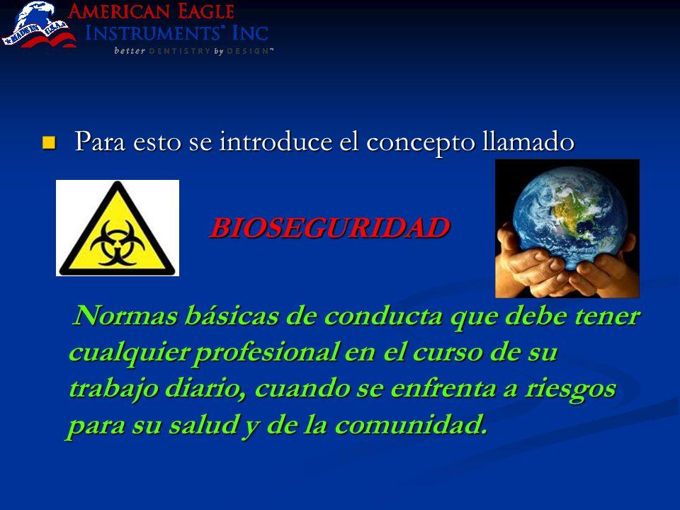 El presente protocolo está basado en las recomendaciones dadas por el Centro para el Control y prevención de Enfermedades (CDC ) de los EEUU y la Asociación Dental Americana ( ADA ).