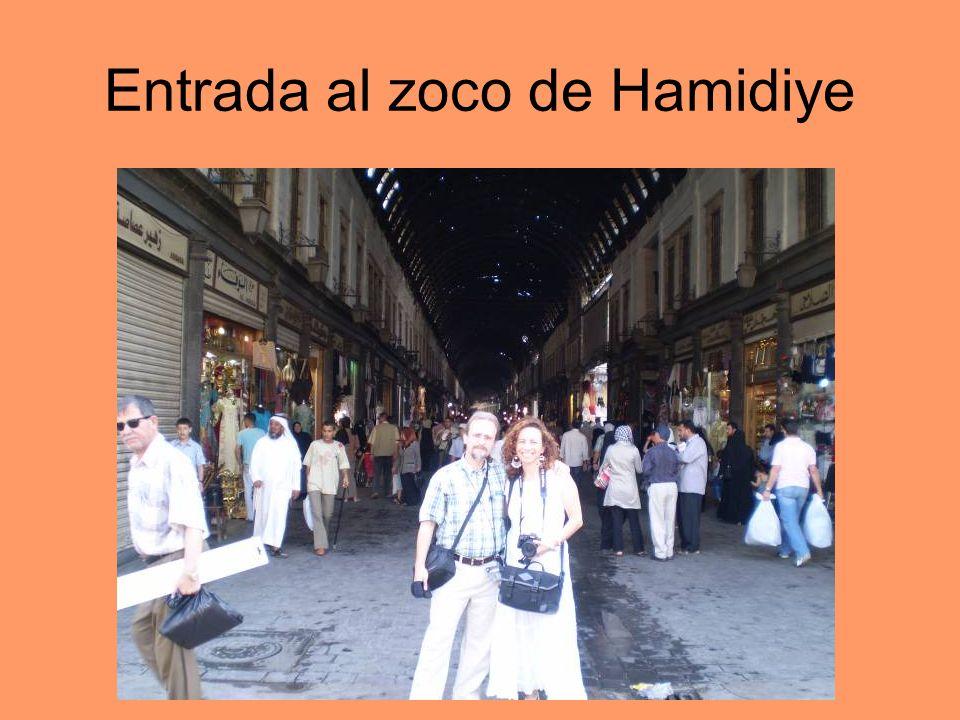 Entrada al zoco de Hamidiye