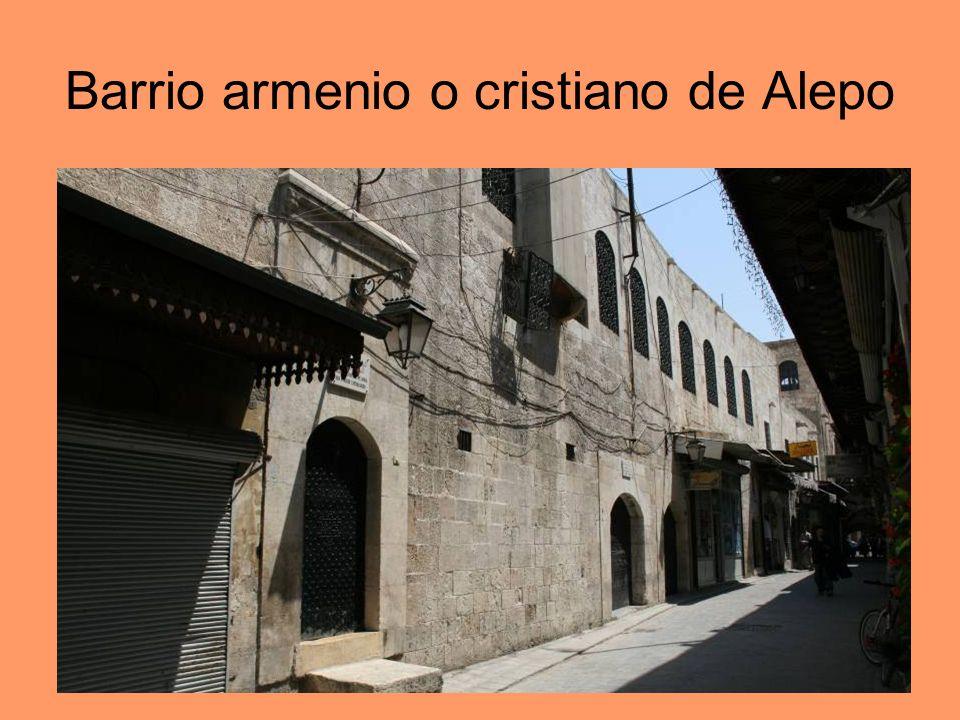 Barrio armenio o cristiano de Alepo