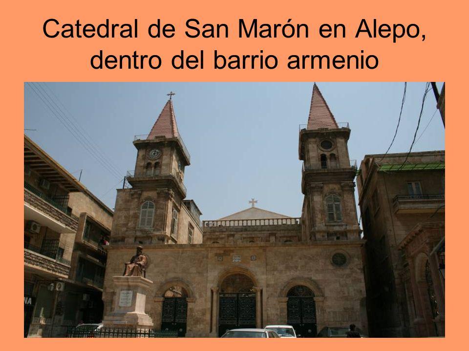 Catedral de San Marón en Alepo, dentro del barrio armenio
