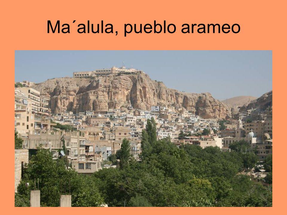 Ma´alula, pueblo arameo