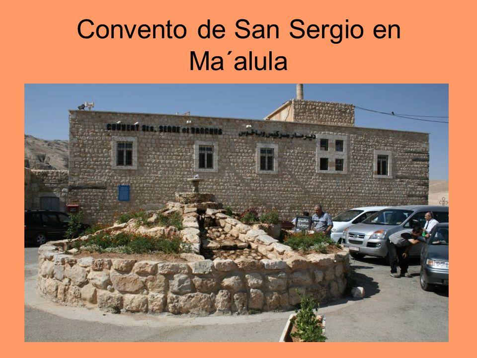 Convento de San Sergio en Ma´alula