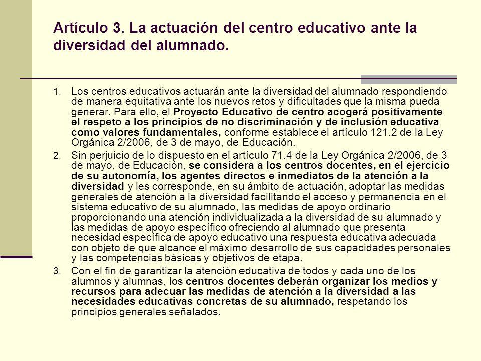 TIPOS DE ADAPTACIONES 1.