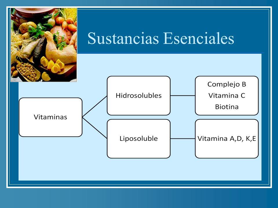 Sustancias Esenciales