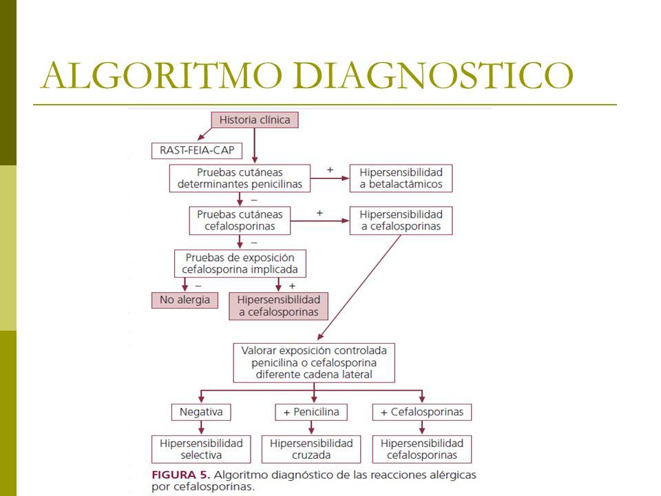 ALGORITMO DIAGNOSTICO