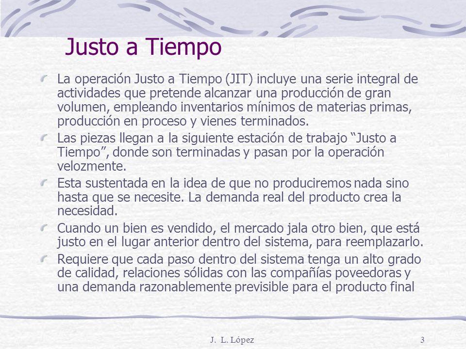 J.L. López23 5. Carga uniforme de la planta No uniforme Ene.