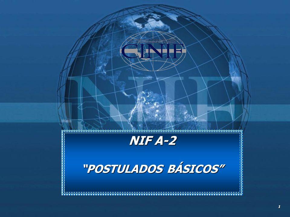 1 NIF A-2 POSTULADOS BÁSICOS