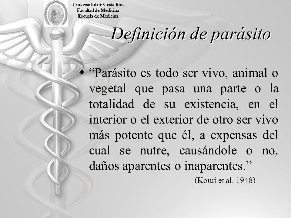 Definición de parásito Parásito es todo ser vivo, animal o vegetal que pasa una parte o la totalidad de su existencia, en el interior o el exterior de