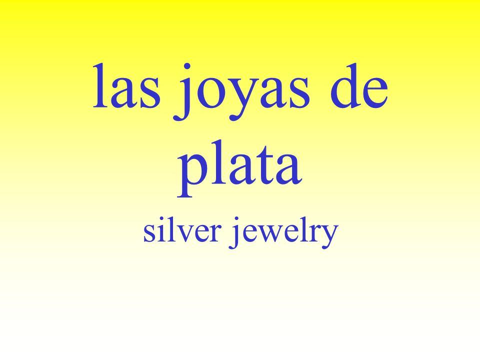 las joyas de oro gold jewelry