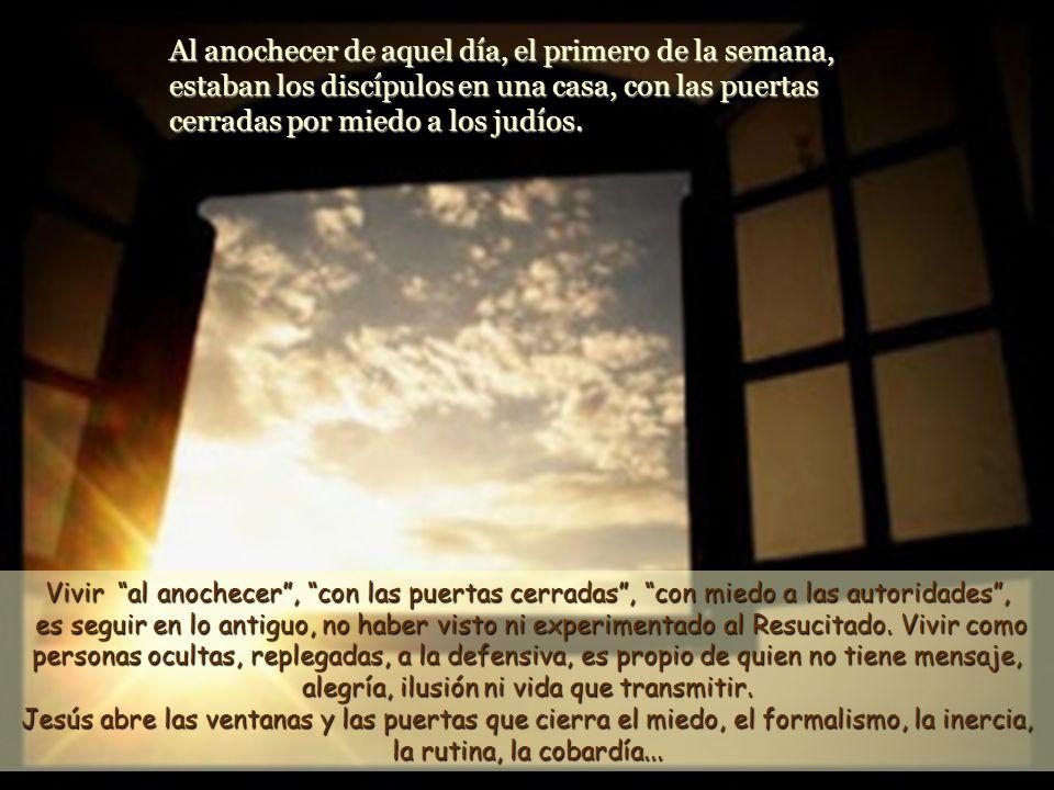 Texto: Jn 20,19-31 - 2 de Pascua -C- Comentarios y presentación: M. Asun Gutiérrez Cabriada. Música: Mozart. Sinfonía Nº 11. El encuentro con Jes ú s