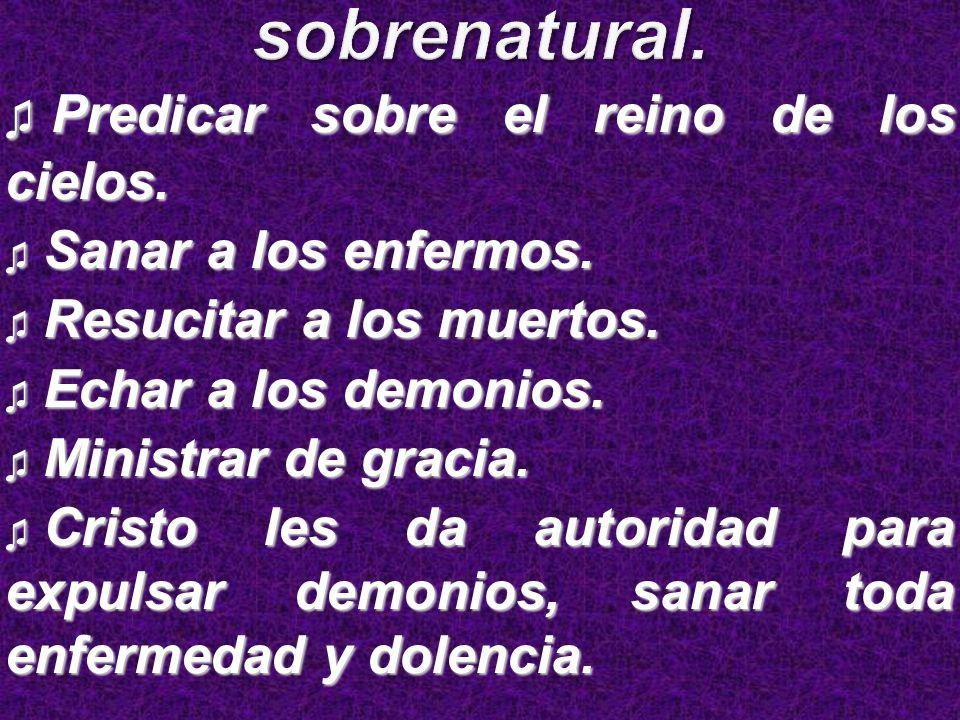 Predicando sobrenaturalmente.Predicando sobrenaturalmente.