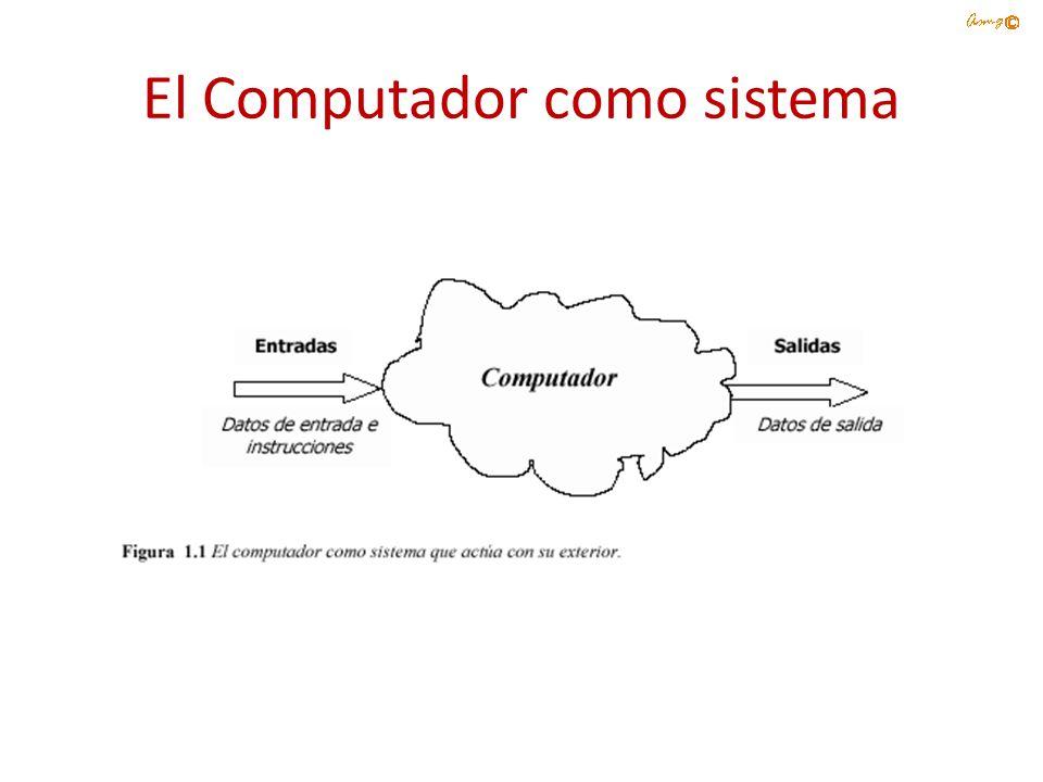 En el interior del computador Todo lo que hace un ordenador digital se basa en una operación: la capacidad de determinar si un conmutador está abierto o cerrado.