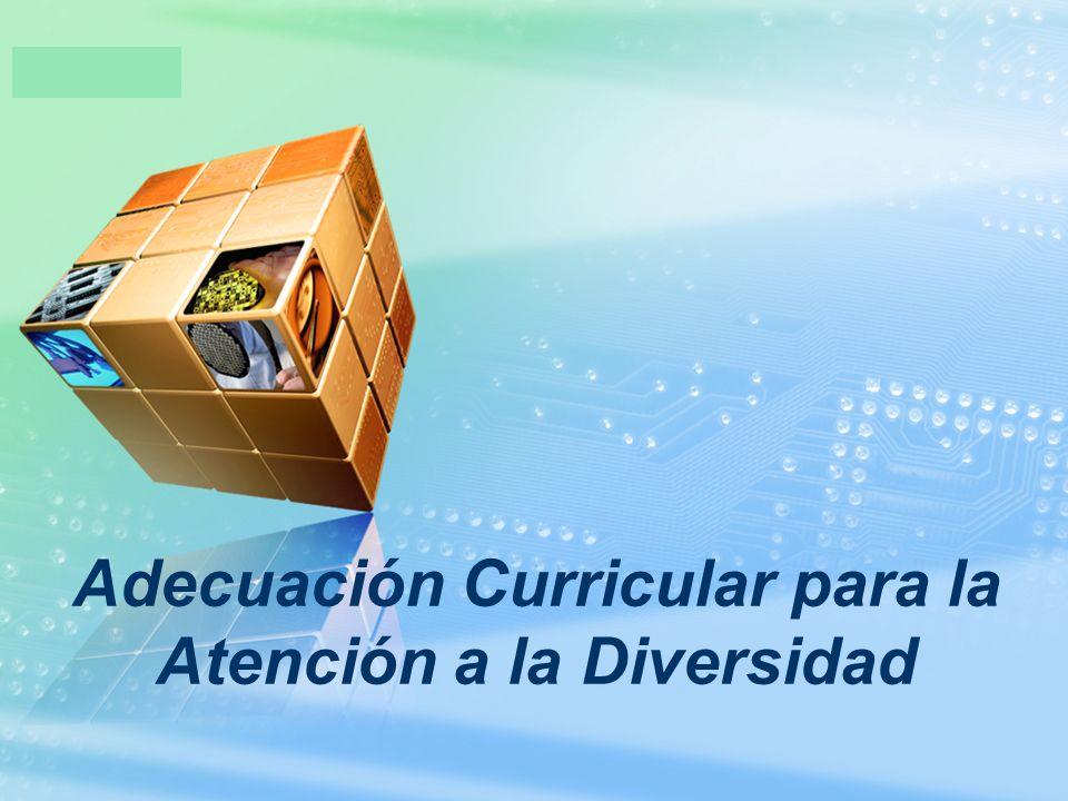 LOGO Adecuación Curricular para la Atención a la Diversidad