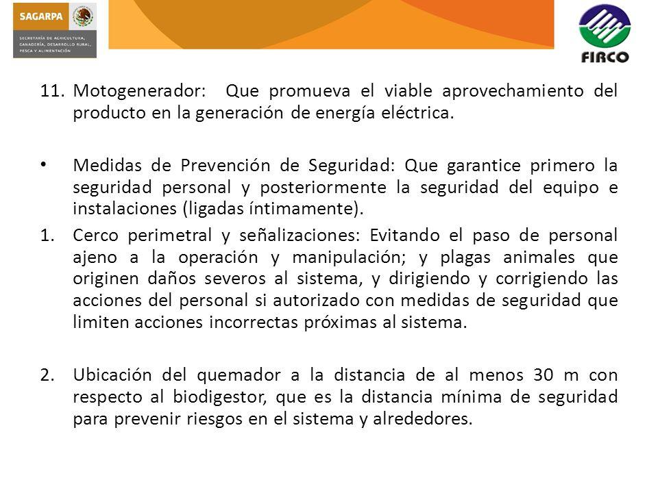 3.Hoja de Seguridad del CH 4 : Para garantizar el optimo manejo del producto dentro de la unidad productiva.