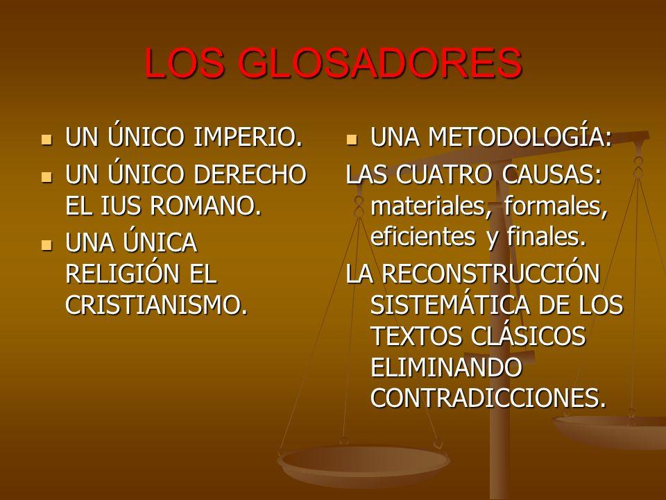 LOS COMENTARISTAS APARICIÓN DEL FEUDALISMO Y CON ÉL LAS PARTICULARIDADES REGIONALES.