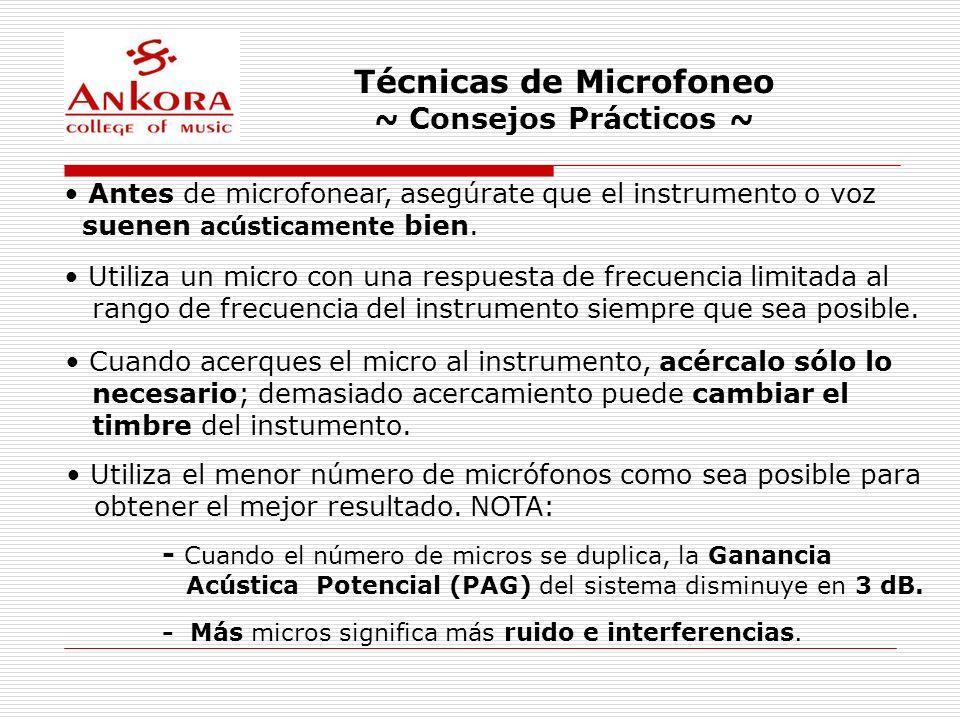 Técnicas de Microfoneo ~ Consejos Prácticos ~ Para ubicar un punto de colocación del micro se puede usar una sola oreja.