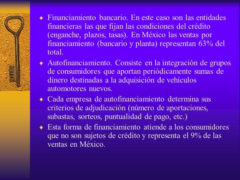 Sistema de Comercialización de Unidades Usadas En México, los vehículos usados son comercializados principalmente a través de transacciones directas entre particulares o en el mercado informal, sin control o registro estadístico alguno que permita dar seguimiento integral del desarrollo de este mercado.