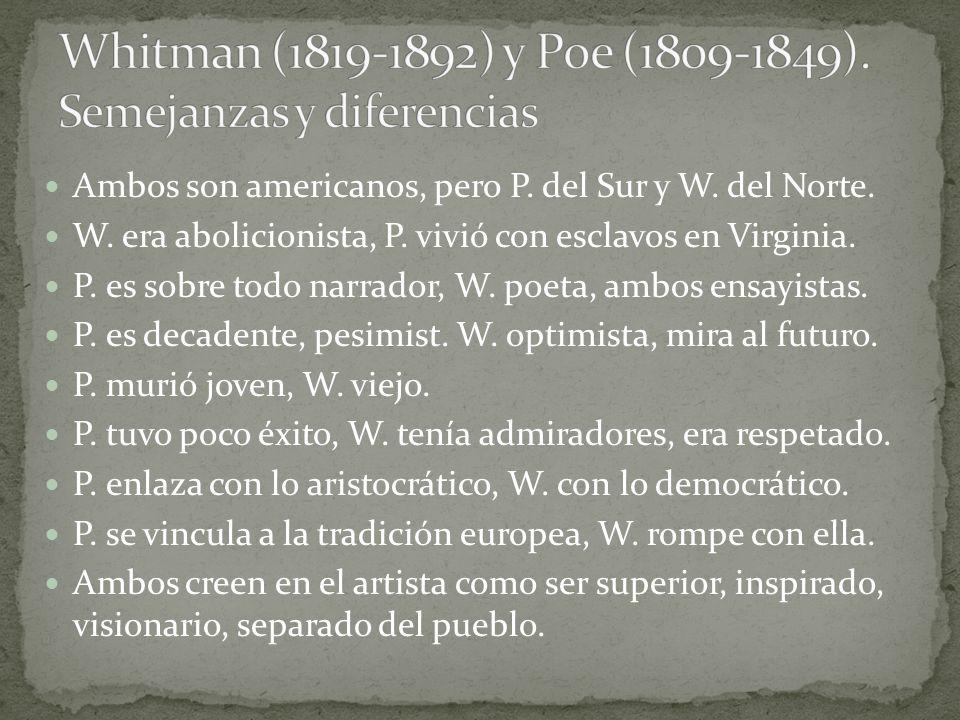 Romanticismo Realismo-Naturalismo Primera mitad del siglo XIX.
