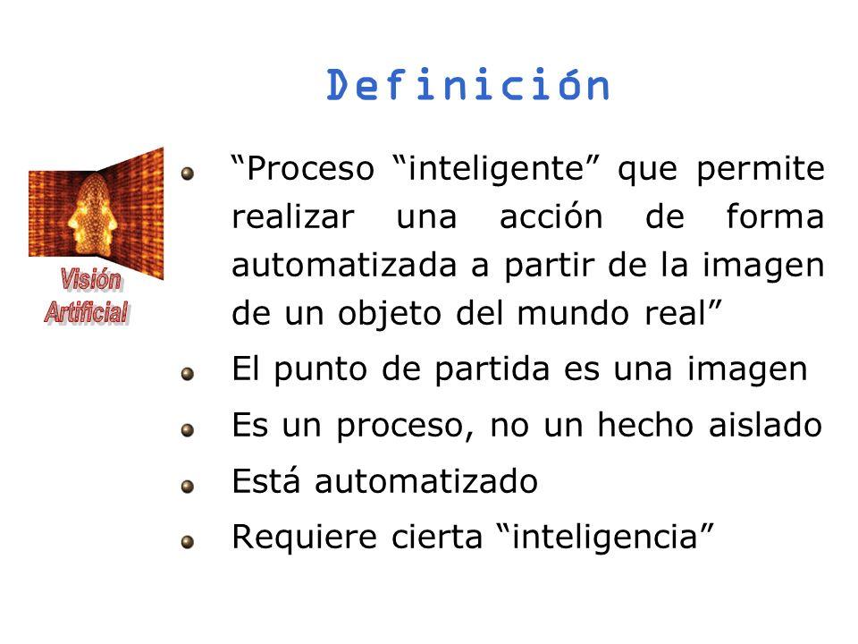 Definición Proceso inteligente que permite realizar una acción de forma automatizada a partir de la imagen de un objeto del mundo real El punto de par