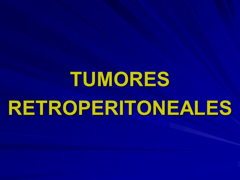 TUMORESRETROPERITONEALES