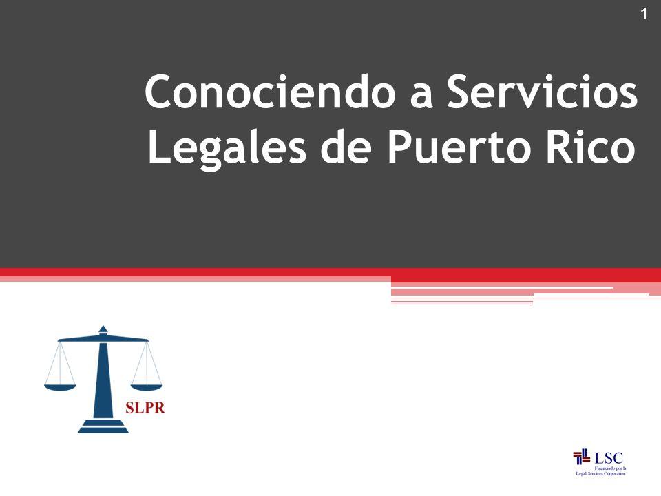 Conociendo a Servicios Legales de Puerto Rico 1
