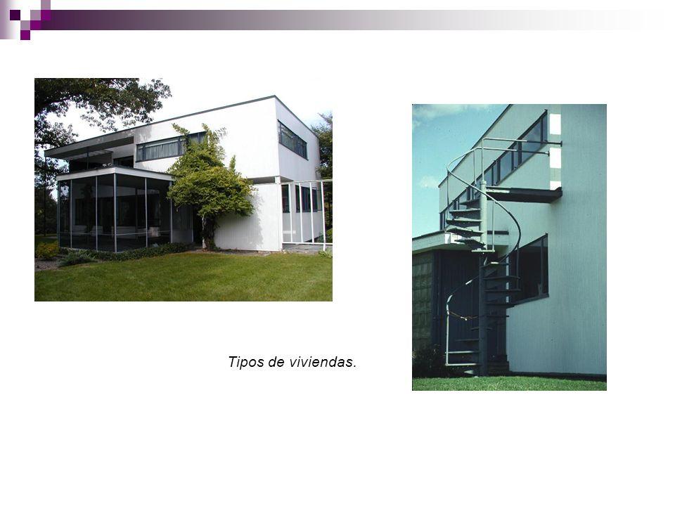 Tipos de viviendas.