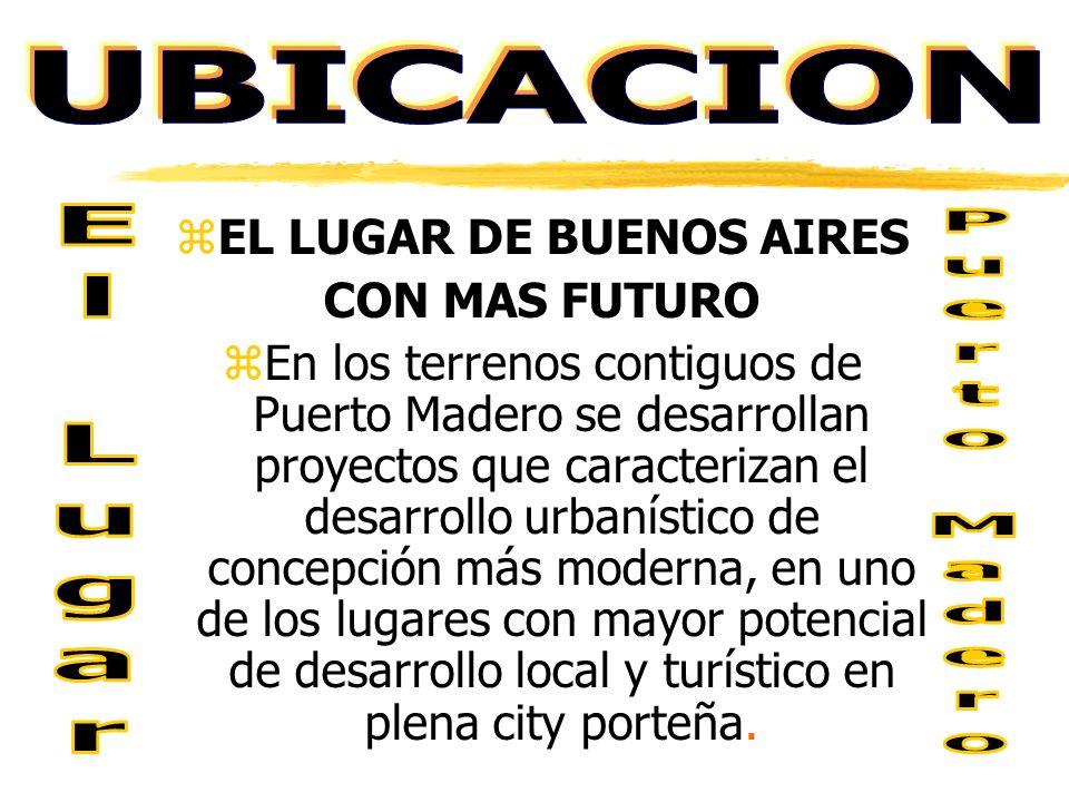 Actualmente la zona, Dique 1 de Puerto Madero, está en pleno desarrollo.