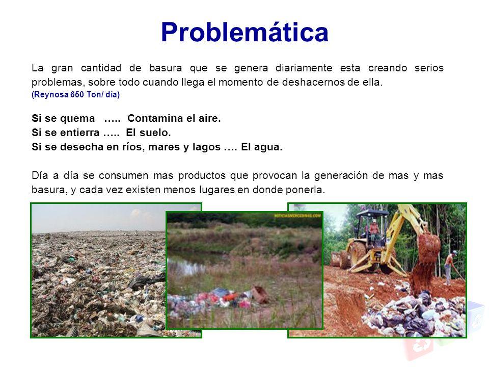 La gran cantidad de basura que se genera diariamente esta creando serios problemas, sobre todo cuando llega el momento de deshacernos de ella. (Reynos