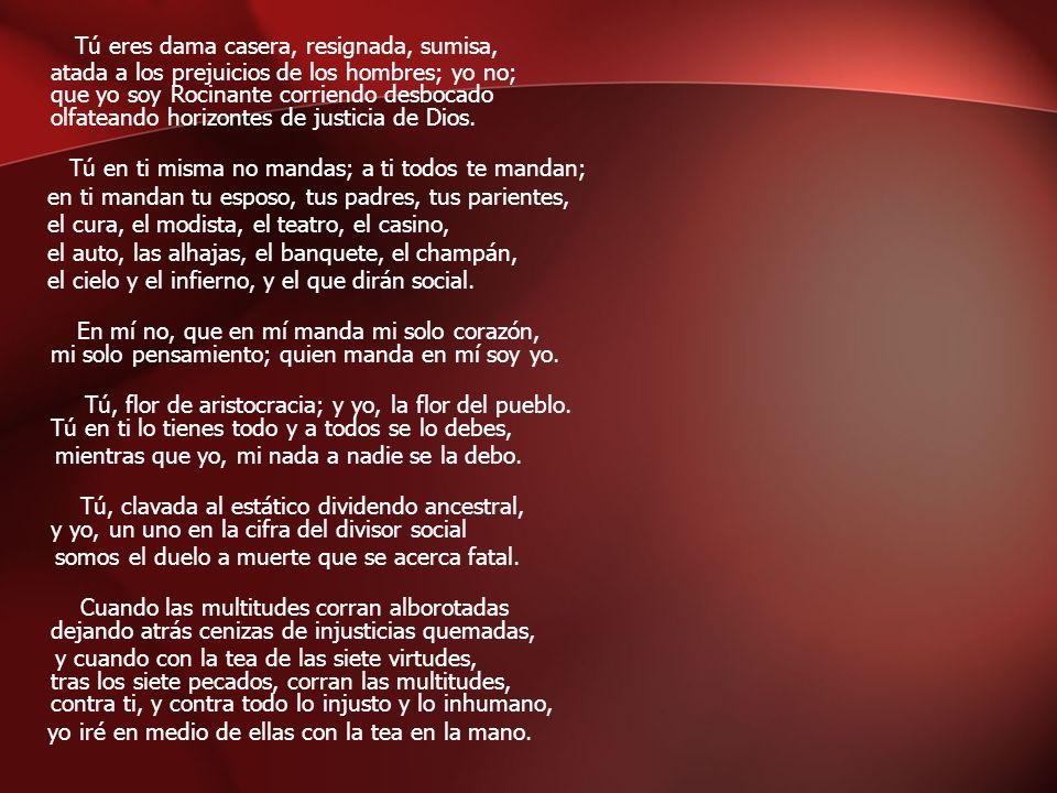 Análisis del Poema ¿Qué tipo de verso tiene el poema.
