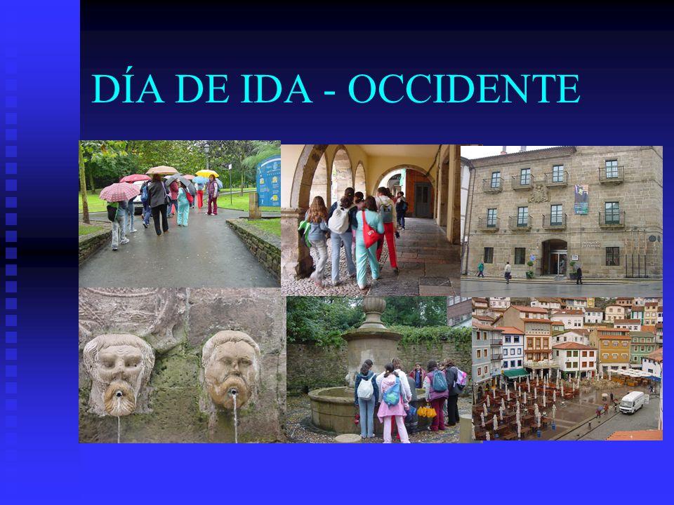 DÍA DE IDA - OCCIDENTE